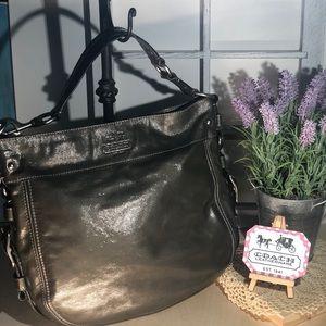 Coach ~ Large Patent Leather Handbag